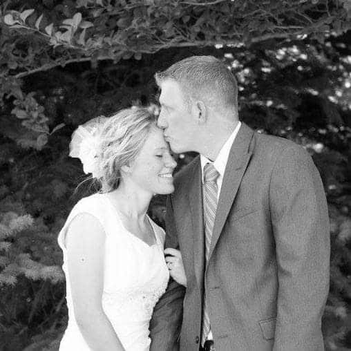 Ben and his Wife on their wedding
