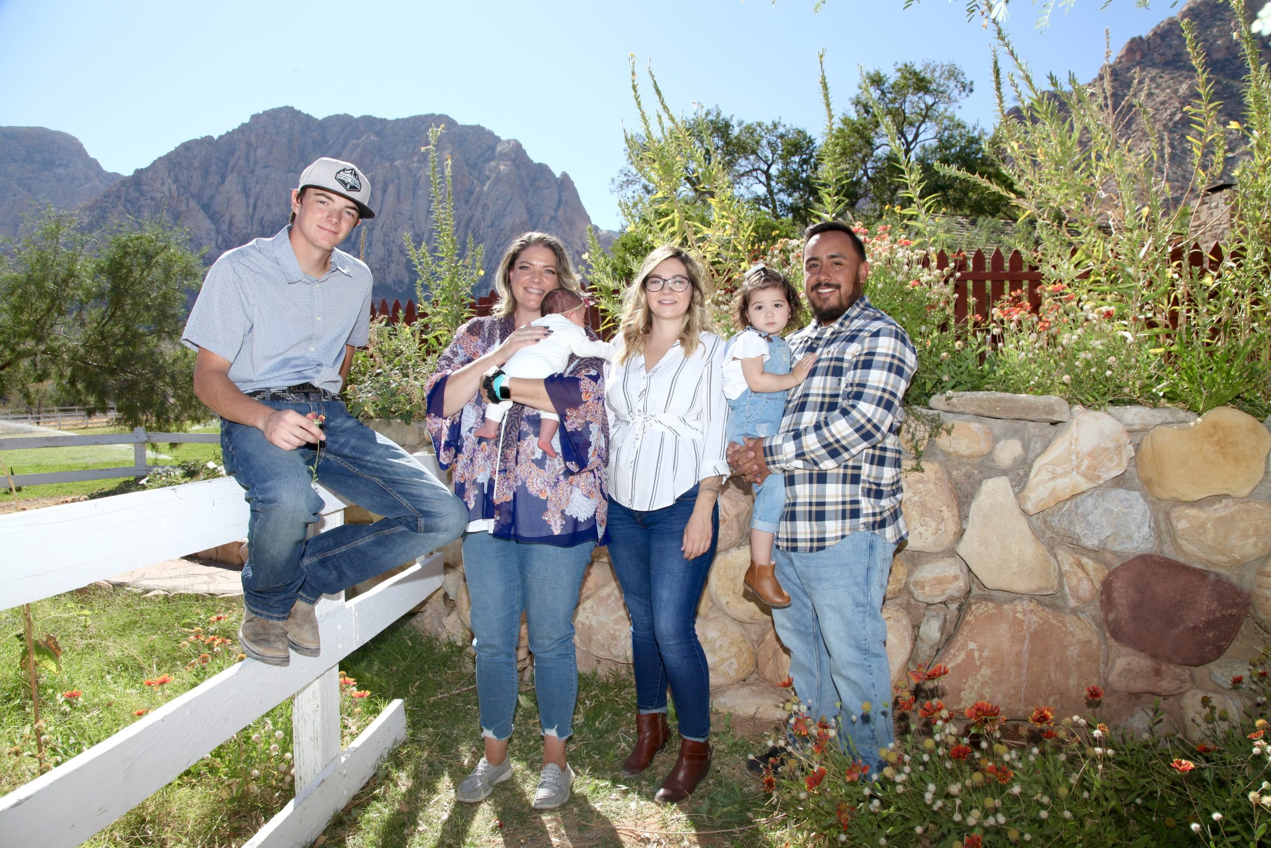 Jenn and her family