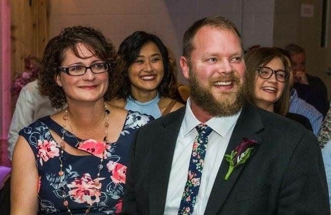 At our oldest son's wedding